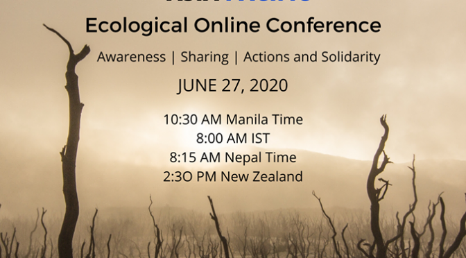 Asia Pacific Ecological Network Online Conference Started